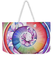 Seed Of Life - Mandala Of Divine Creation Weekender Tote Bag