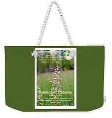 Seed Production Weekender Tote Bag