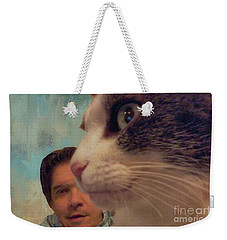 Seeing Eye To Eye Weekender Tote Bag