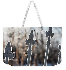 Seeing Through The Gate Weekender Tote Bag