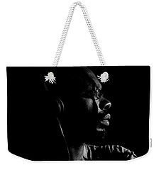 Weekender Tote Bag featuring the photograph Seek It by Eric Christopher Jackson