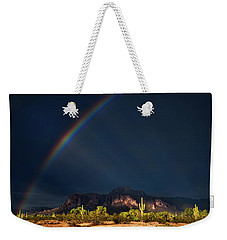 Weekender Tote Bag featuring the photograph Seeking That Pot Of Gold  by Saija Lehtonen