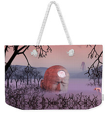 Seeking The Dying Light Of Wisdom Weekender Tote Bag by John Alexander