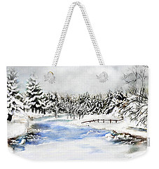 Seeley Montana Winter Weekender Tote Bag by Susan Kinney