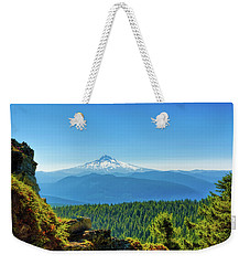 Mt Hood Seen From Beyond Weekender Tote Bag