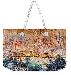 Sego Canyon Indian Petroglyphs And Pictographs Weekender Tote Bag