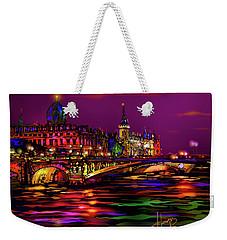 Seine, Paris Weekender Tote Bag by DC Langer