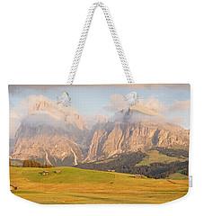 Seiser Alm Weekender Tote Bag