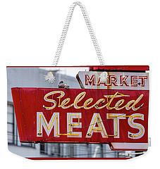 Selected Meats Weekender Tote Bag