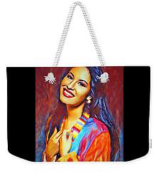Selena Queen Of Tejano  Weekender Tote Bag