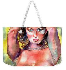 Selena Weekender Tote Bag