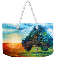 Self Portrait #3 A New Day Weekender Tote Bag