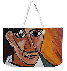 Self Portrait Of Picasso Weekender Tote Bag by Nora Shepley