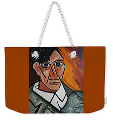Self Portrait Of Picasso Weekender Tote Bag