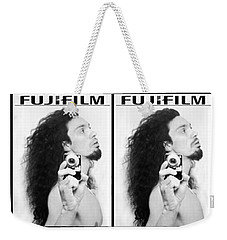 Self Portrait Progression Of Self Deception Weekender Tote Bag by Shawn Dall