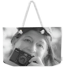 Self Portrait With A Ricoh Weekender Tote Bag