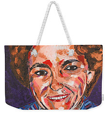 Self-portrait With Blue Jacket Weekender Tote Bag