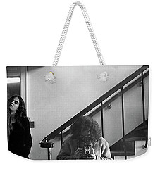 Self-portrait, With Woman, In Mirror, Cropped, 1972 Weekender Tote Bag