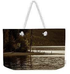 Self Reflection On The Lake Weekender Tote Bag