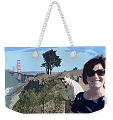 Selfie In San Francisco Weekender Tote Bag