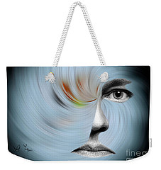 Selfie Weekender Tote Bag by Leo Symon
