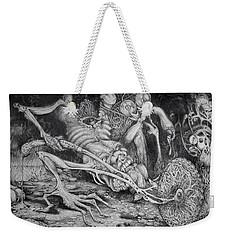 Selfpropelled Beastie Seeder Weekender Tote Bag