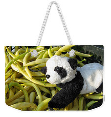 Weekender Tote Bag featuring the photograph Selling Beans by Ausra Huntington nee Paulauskaite