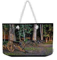 Seminary Ridge Artillery Weekender Tote Bag by Rob Sellers