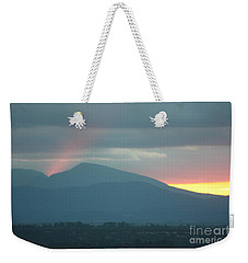 Weekender Tote Bag featuring the photograph Sendoff by Brian Boyle