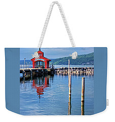 Seneca Lake Harbor Weekender Tote Bag