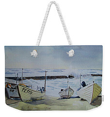 Sennen Cove Fishing Boats Weekender Tote Bag