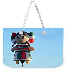Weekender Tote Bag featuring the photograph Senorita by AJ Schibig