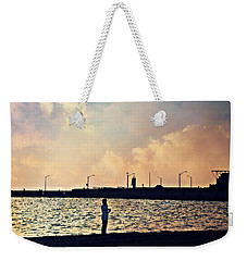 Weekender Tote Bag featuring the photograph Sensational Sights by Cyryn Fyrcyd