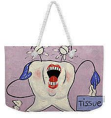 Sensitive Tooth Weekender Tote Bag