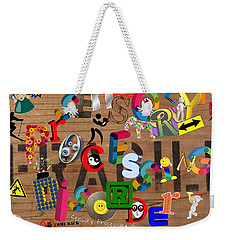 Sensory Processing Disorder Weekender Tote Bag