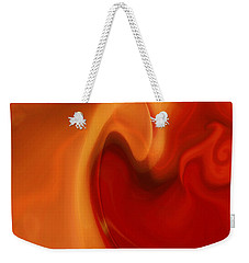 Sensual Love Weekender Tote Bag by Linda Sannuti