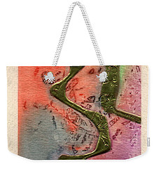 Sentimental Weekender Tote Bag by Angela L Walker