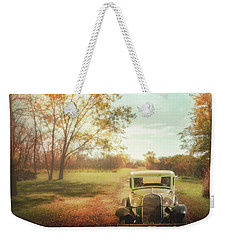 Sentimental Journey Weekender Tote Bag