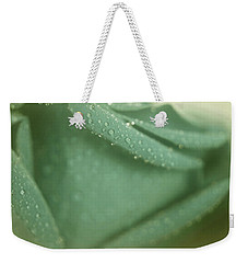 Sentiments Of Rose Weekender Tote Bag by The Art Of Marilyn Ridoutt-Greene
