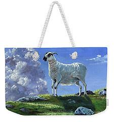 Sentinal Of The Highlands Weekender Tote Bag