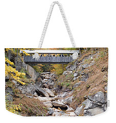 Sentinel Pine Covered Bridge Weekender Tote Bag