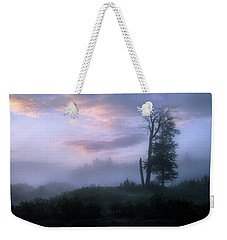 Weekender Tote Bag featuring the photograph Sentinels In The Valley by Dan Jurak