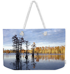 Sentinels Of The Lake Weekender Tote Bag