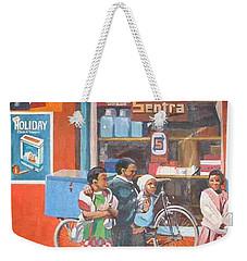 Sentra Weekender Tote Bag by Tim Johnson