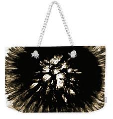 Sepia Dandelion Weekender Tote Bag