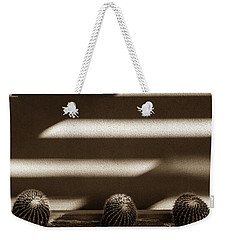 Sepia Stucco Shadows Weekender Tote Bag