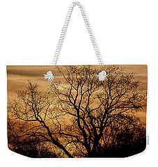 Sepia Sunset Weekender Tote Bag by Michael Nowotny