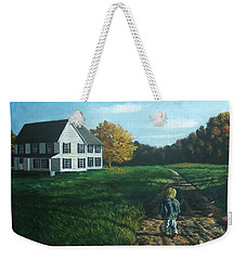 September Breeze Number 4 Weekender Tote Bag