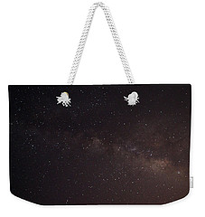Weekender Tote Bag featuring the photograph September Galaxy I by Carolina Liechtenstein