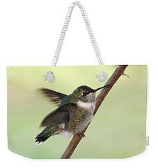 September Hummingbird Weekender Tote Bag by TnBackroadsPhotos